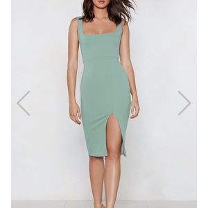 NastyGal Midi Dress